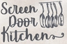 Screen Door Kitchen Logo